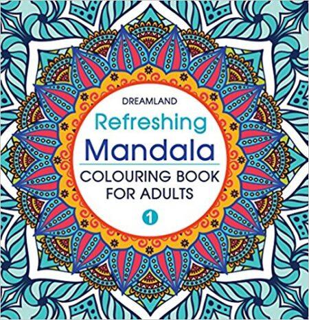 Mandala coloring book for adults 1
