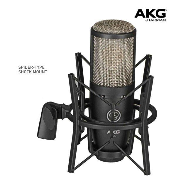 AKG P220 - High-performance large diaphragm true condenser microphone