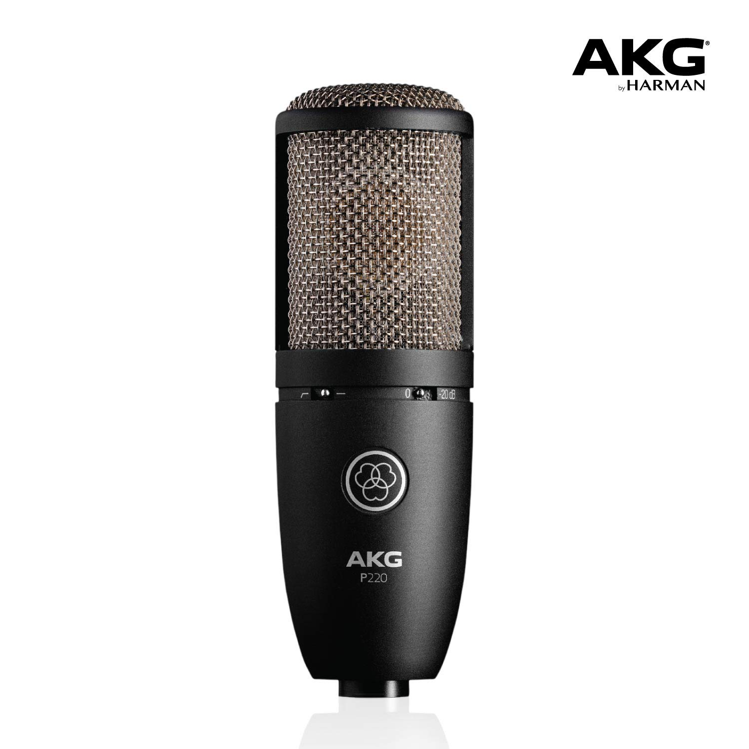 AKG P220 – High-performance large diaphragm true condenser microphone