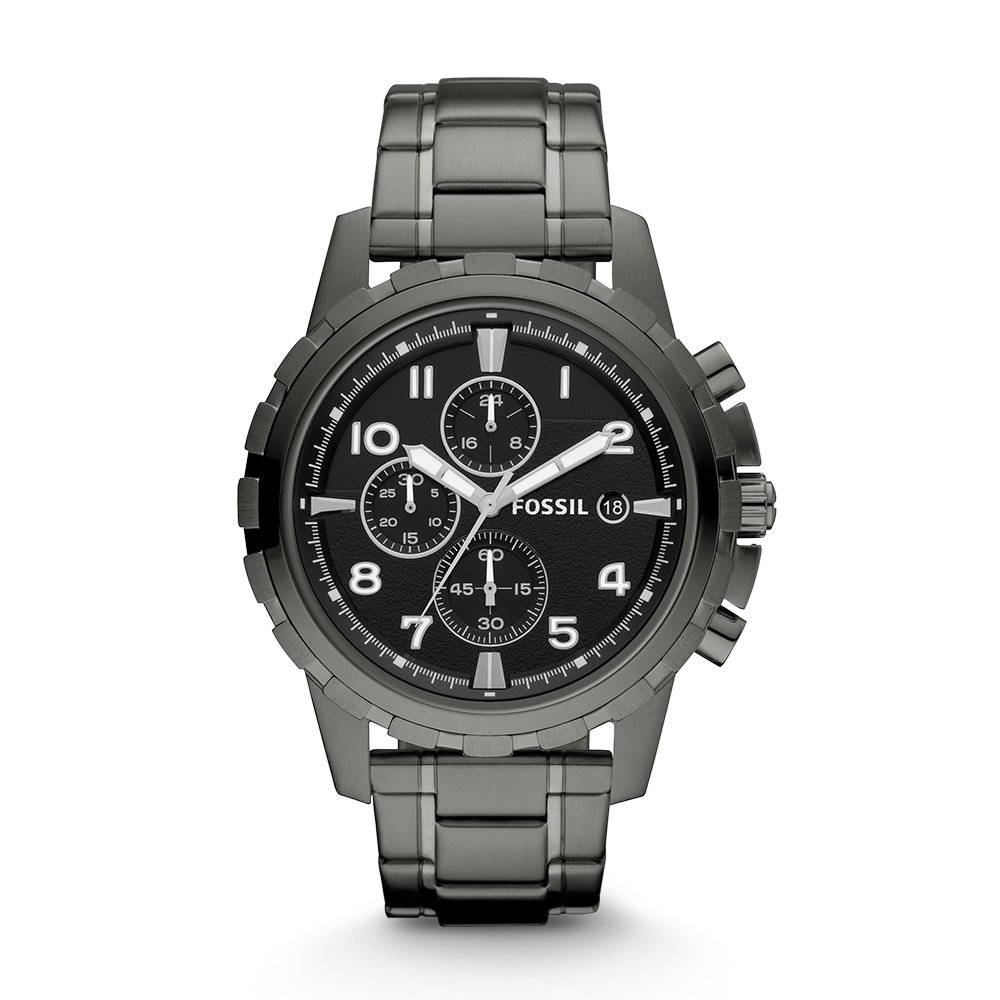 Fossil Dean Chronograph Black Dial Men's Watch - FS4721