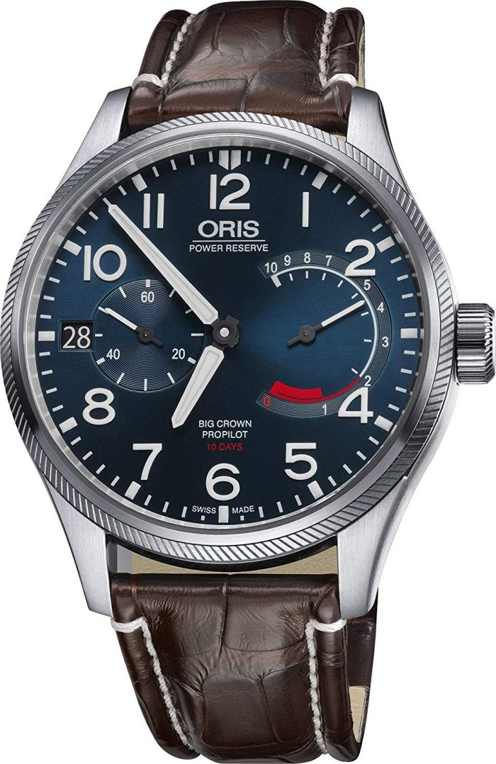 Oris Blue Analog for men