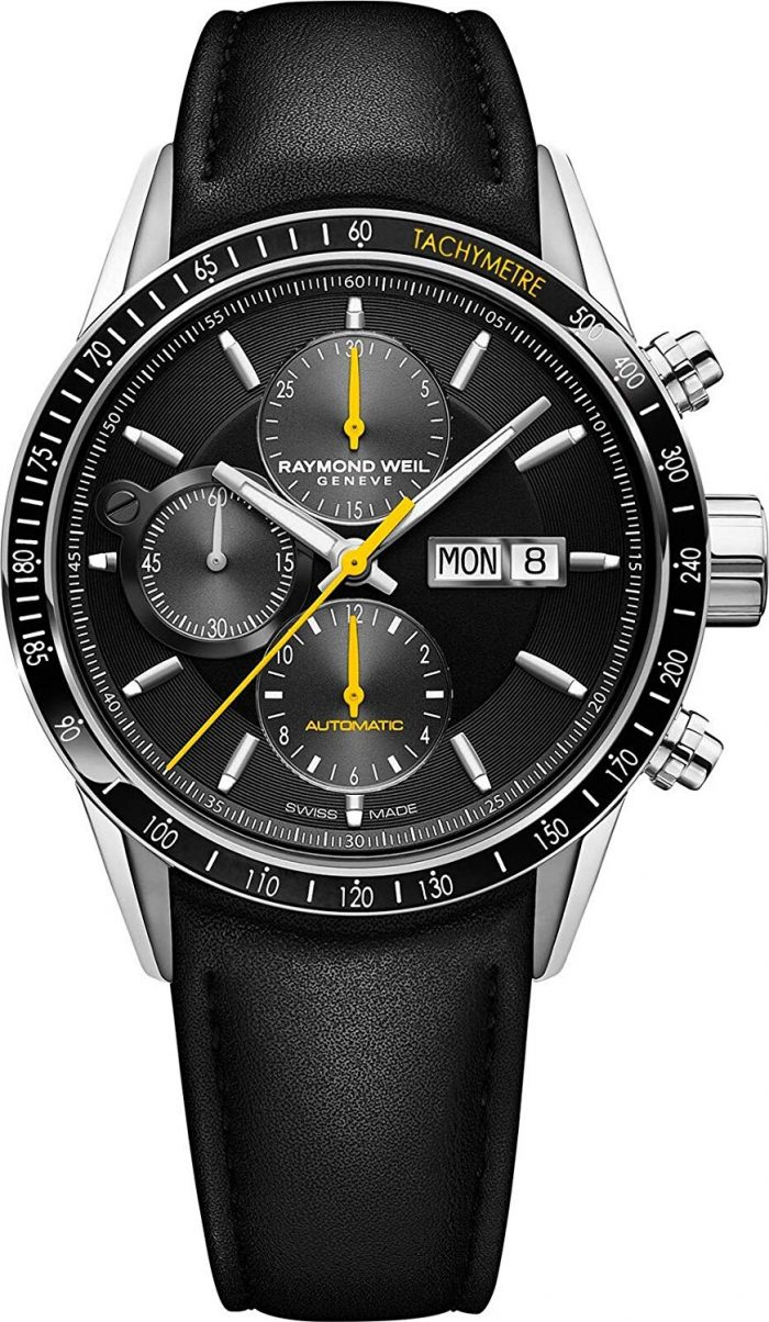 Raymond Weil Analog Black Dial Men's Watch-7731-SC1-20121