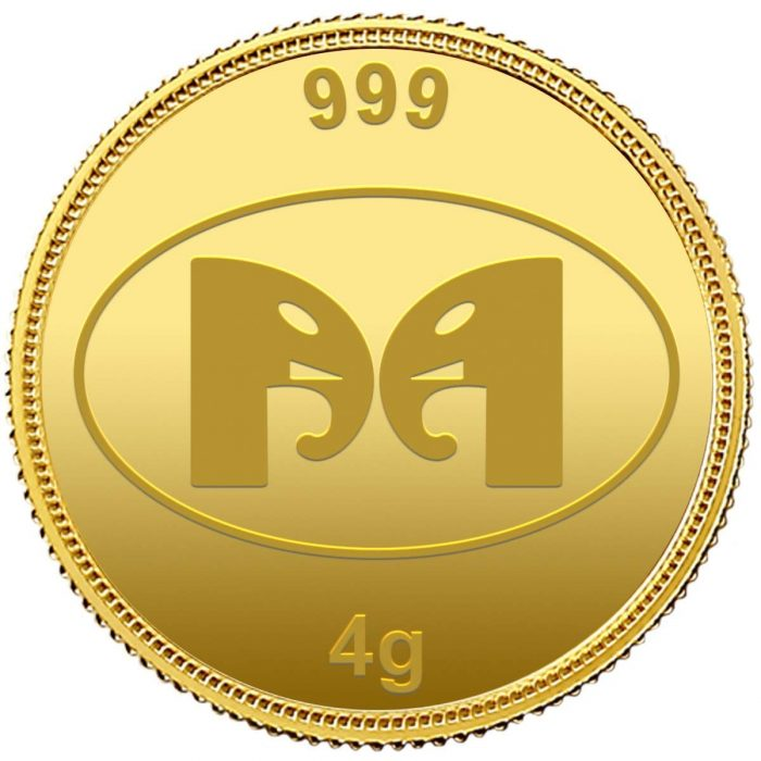 Muthoot Precious Metals Corporation 24k (999) 8 gm Combo pack – Goddess Lakshmi and Lord Ganesh Gold Coins