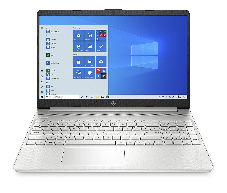 HP 15s eq0024au 15.6-inch Laptop (3rd Gen Ryzen 5 3500U8GB512GB SSDWindows 10MS Office 2019Radeon Vega 8 Graphics), Natural Silver 2