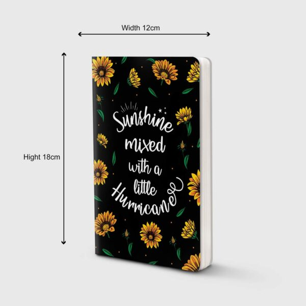 Factor Notes Notebook (Sunshine Mixed with a Hurricane)